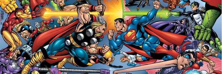 "Marzo loco ""Marvel vs DC"""