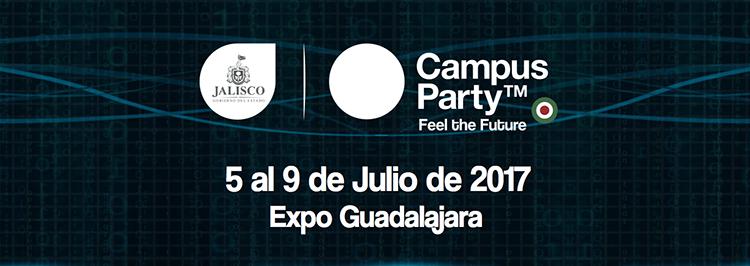 Presentación de Jalisco Campus Party 2017 #CPMX8